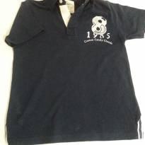 Camisa polo azul marinho - 6 anos - Palomino