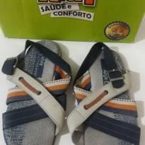 Sandália couro Kidy - 33 - Kidy