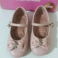 Sapato boneca rosa Kidy - 23 - Kidy