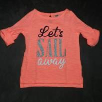 Camiseta OshKosh glitter e leveza - 2 anos - OshKosh