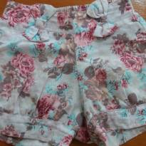 Short floral - 1 ano - Alenice