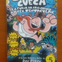 Livro capitão Cueca -  - Editora Globo