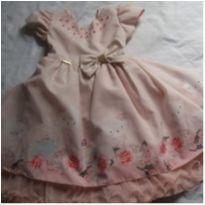 Vestido princesa rosa - 3 anos - Menina Bonita