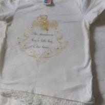 Camisa Tip top com rendinha - 3 anos - Tip Top