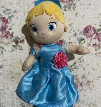 Boneca Cinderela - Sem faixa etaria - Não informada