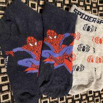 2 pares de meia homem aranha - 3 anos - Primark