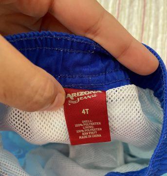 Bermuda tactel comprada nos EUA - 4 anos - 4 anos - Arizona Jeans - USA