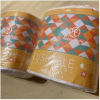 2 pacotes de liners para usar com fralda de pano -  - Happy Flute
