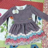 Vestido - 9 meses - Kiki Xodó