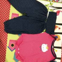 Conjunto body e calça - 6 a 9 meses - Big bang
