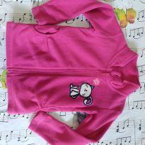 Casaco rosa de plush - 1 ano - Boulevard Baby