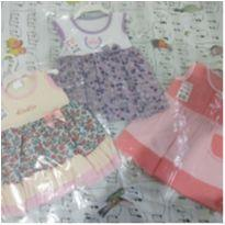 Vestidos nenê - 6 meses - La Mayara