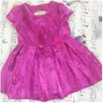Vestido pink - 2 anos - The Children`s Place