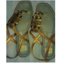 Sandália com pedrinhas - 36 - Grendha
