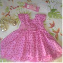 Vestido de boneca - 12 a 18 meses - Menina Bonita