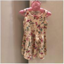 Vestido pássaros - 3 anos - Rovitex Baby