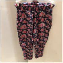 Calça floral - 18 a 24 meses - H&M