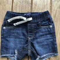 Bermuda jeans Gap 6/12 meses - 9 a 12 meses - GAP