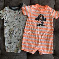 Kit 2 rompers carters