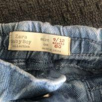 Bermuda jeans Zara - 9 a 12 meses - Zara