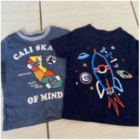 Kit camisetas gap - 2 anos - Baby Gap