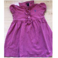 Vestido maravilhoso - 18 meses - Ralph Lauren