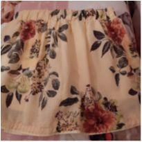 Saia floral - 8 anos - Milon