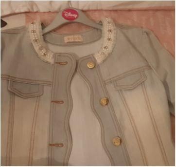 Jaqueta Jeans Infanti - 10 anos - Infanti