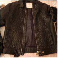 Jaqueta de couro - 10 anos - Infanti