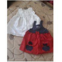 Vestidos para menina super charmosa - tam M - 09 a 12 meses - 9 a 12 meses - Não informada