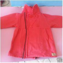 Blusa vermelha - 12 a 18 meses - Não informada