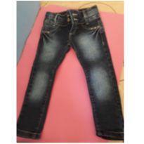 Calça jeans para menina - 12 a 18 meses - 12 a 18 meses - Não informada