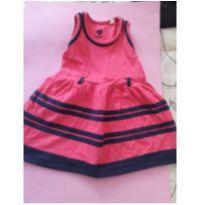 Vestido cotton baby club - 12 a 18 meses - Baby Club