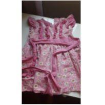 Vestido florido - 18 a 24 meses - Não informada