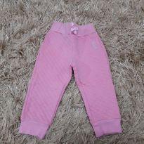 calça rosa - 9 a 12 meses - Não informada