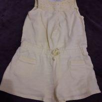 Macacão amarelo - 12 a 18 meses - Zara e Zara Baby