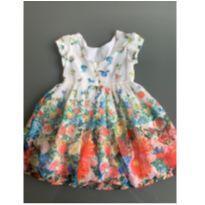 vestido florido - 3 anos - 1+1
