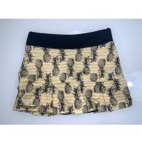 shorts saia com estampas de abacaxi - 6 anos - Sem marca