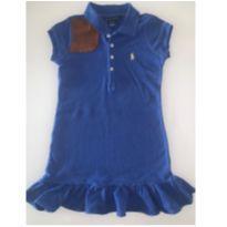 vestido azul - 4 anos - Ralph Lauren