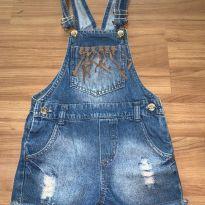 macacão jeans - 4 anos - Palomino