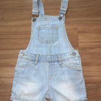 macacão jeans claro - 3 anos - GAP