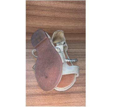 sandália gladiadora dourada - 25 - Lilica Ripilica