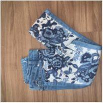 calça jeans estampada - 3 anos - Puramania