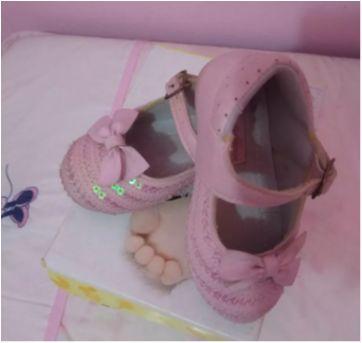 Sapatilha lantejoulas - 19 - Sonho de Criança