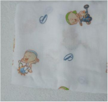 Fralda de pano estampada kit com 2 peças - Sem faixa etaria - cremer