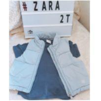 COLETE  E  CAMISETA ZARA - 18 a 24 meses - Zara Baby