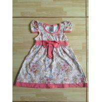 Vestido de flores lindo - 1 ano - Randa Mundu