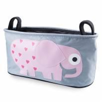 Organizador de carrinho elefante cor de rosa -  - Importada