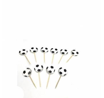 20 Toppers bola de futebol - Sem faixa etaria - Não informada
