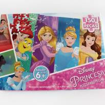 Quebra-cabeça Princesas 150 peças -  - Grow